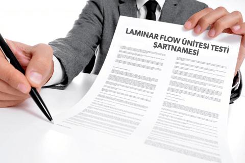 Laminar Flow Ünitesi Testi Teknik Şartnamesi